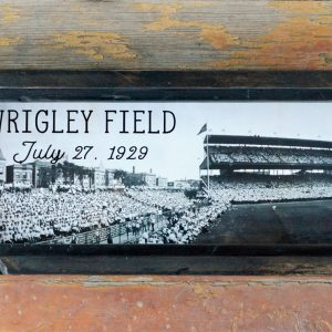 Vintage Wrigley Field photo