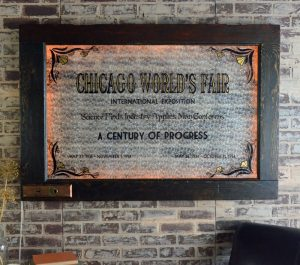 Chicago World Fair statement art