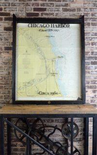 Chicago Harbor Nautical Chart