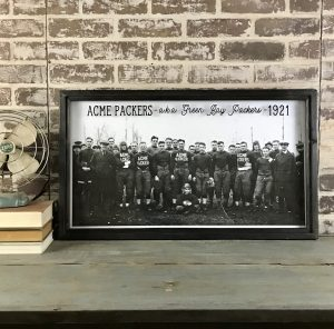 Vintage Green Bay Packers Photo