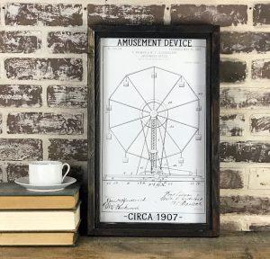 vintage Ferris wheel patent