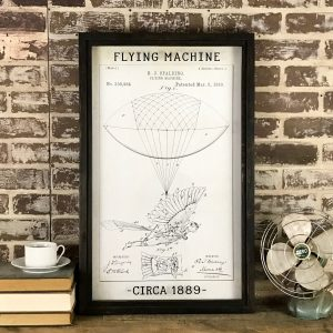 vintage flying machine patent