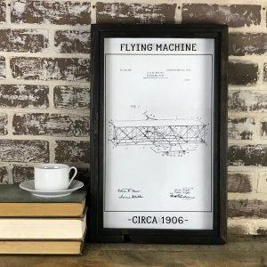 vintage airplane patent