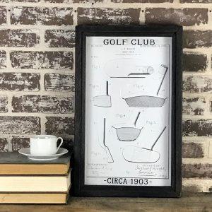 vintage golf club patent