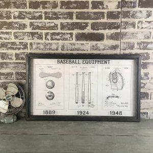 baseball vintage patent art