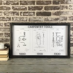 carpentry vintage patent art