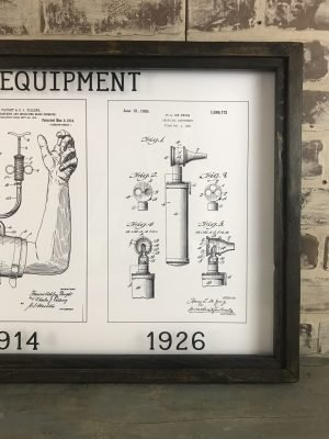 vintage medical patent art