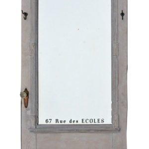 Freestanding vintage mirror