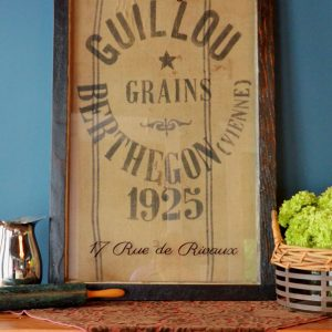 French Grain Sack Artwork