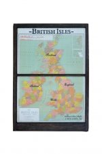 Large Antique British Isles map