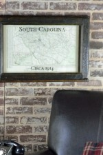Antique South Carolina Map