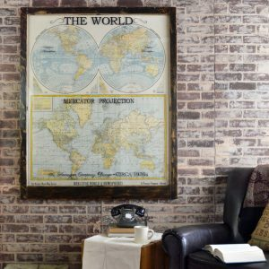 Vintage Map Artwork